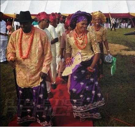 Blessing Okagbare weds Igho Otegheri Loveweddingsng5