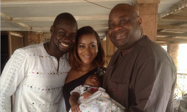 Meet Chris Attoh and Damilola Adegbite's Son – Brian