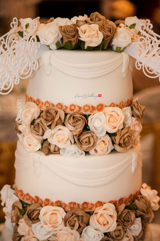 Loveweddingsng Antonia and Stanley Remi Benson Photography cake