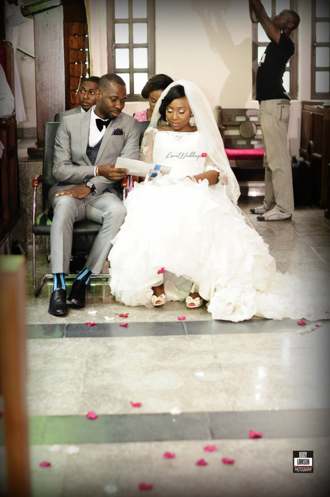 Loveweddingsng Motilayo and Banji White Wedding123
