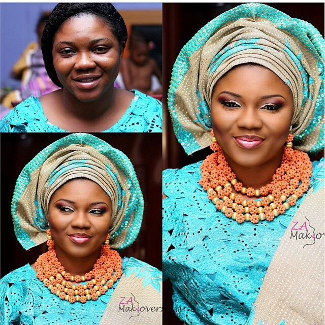 Loveweddingsng Nigerian Traditional Bridal Looks We Love - Zainab Azeez