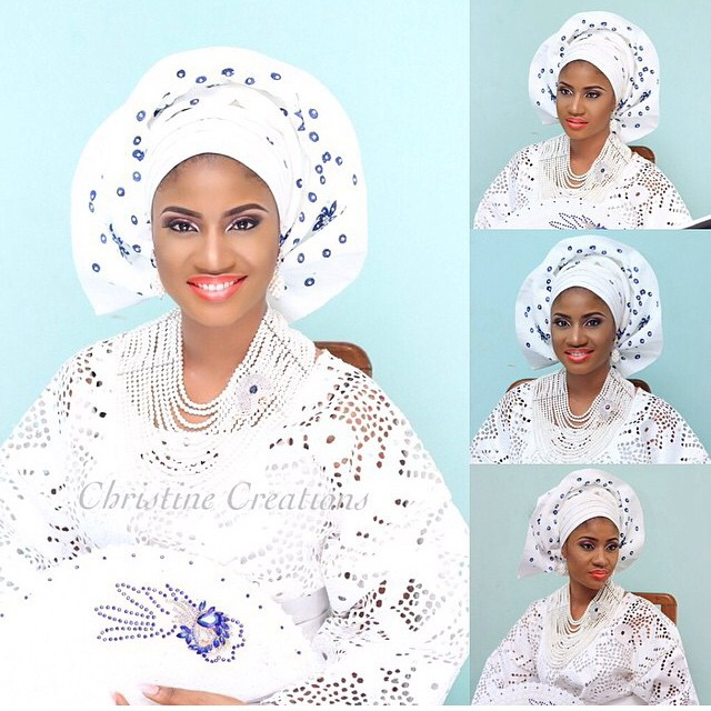 Loveweddingsng Traditional Bridal Look - Christine Creations