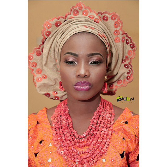 Loveweddingsng Traditional Bridal Look - Kel Makeover