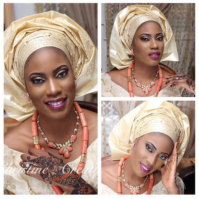 Loveweddingsng Traditional Bridal Looks We Love Christine Creations