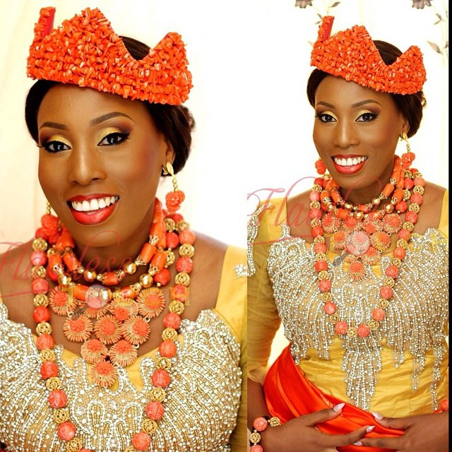 Loveweddingsng Traditional Bridal Looks We Love - Flawless Touch makeovers