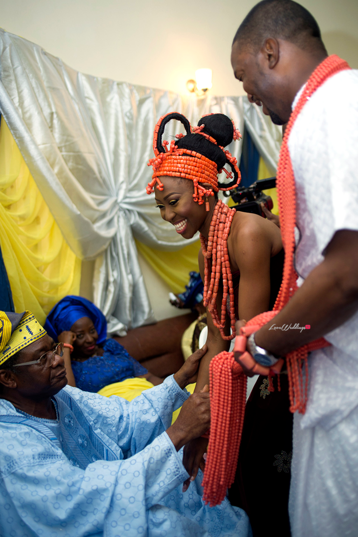 Loveweddingsng Traditional Wedding Idowu and Owen Ice Imagery17