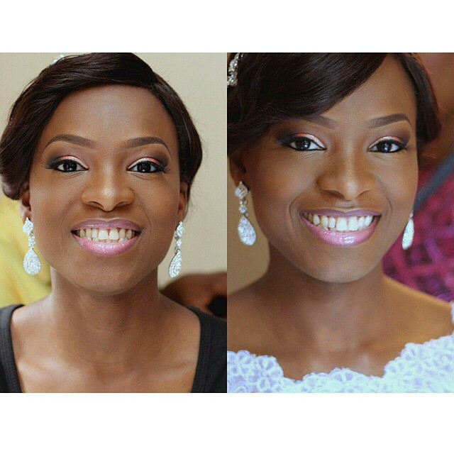 Loveweddingsng White Wedding Bridal Looks - Huesncurls