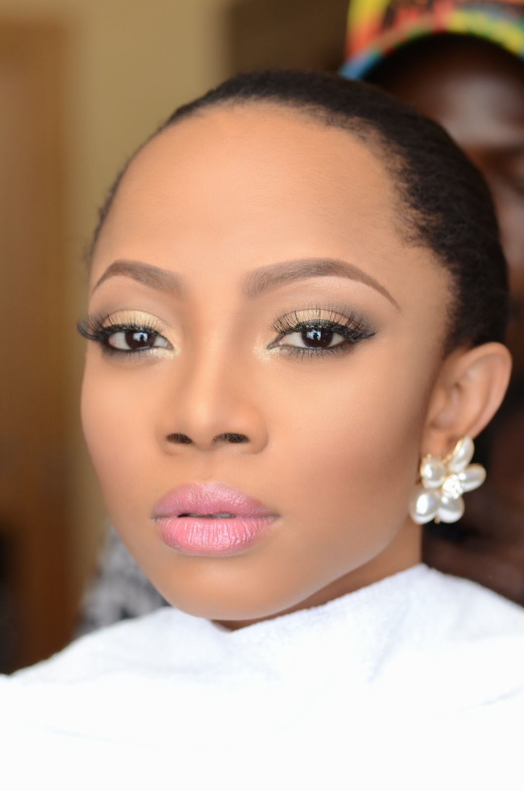 Loveweddingsng White Wedding Bridal Looks We Love - Toke Makinwa