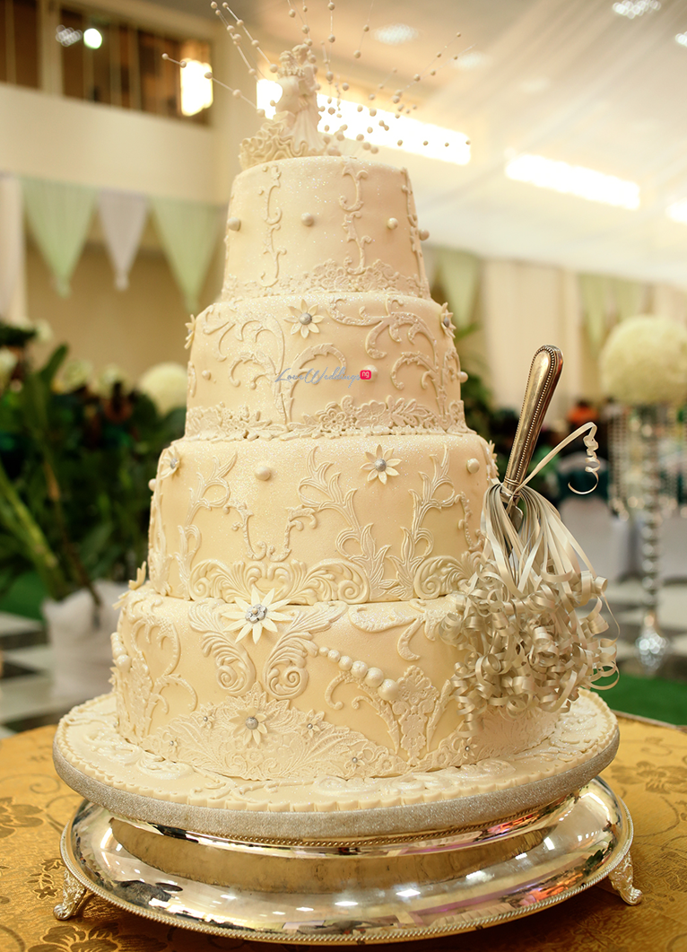 Loveweddingsng White Wedding Idowu and Owen Ice Imagery32 - cake