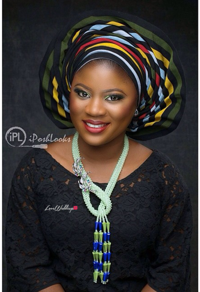 Nigerian Traditional Bride IPosh Looks Loveweddingsng10