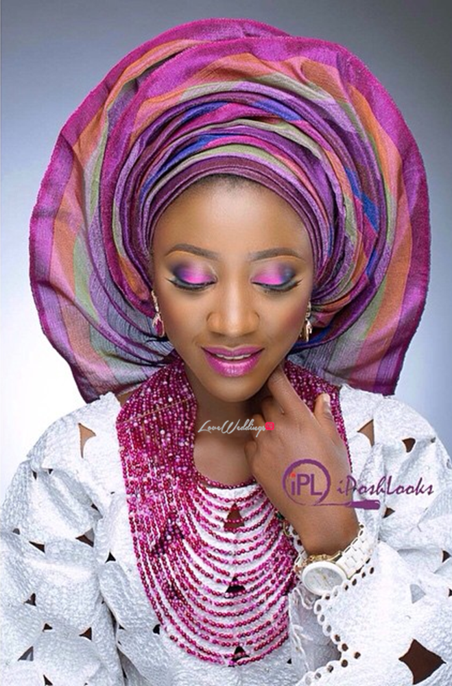 Nigerian Traditional Bride IPosh Looks Loveweddingsng8