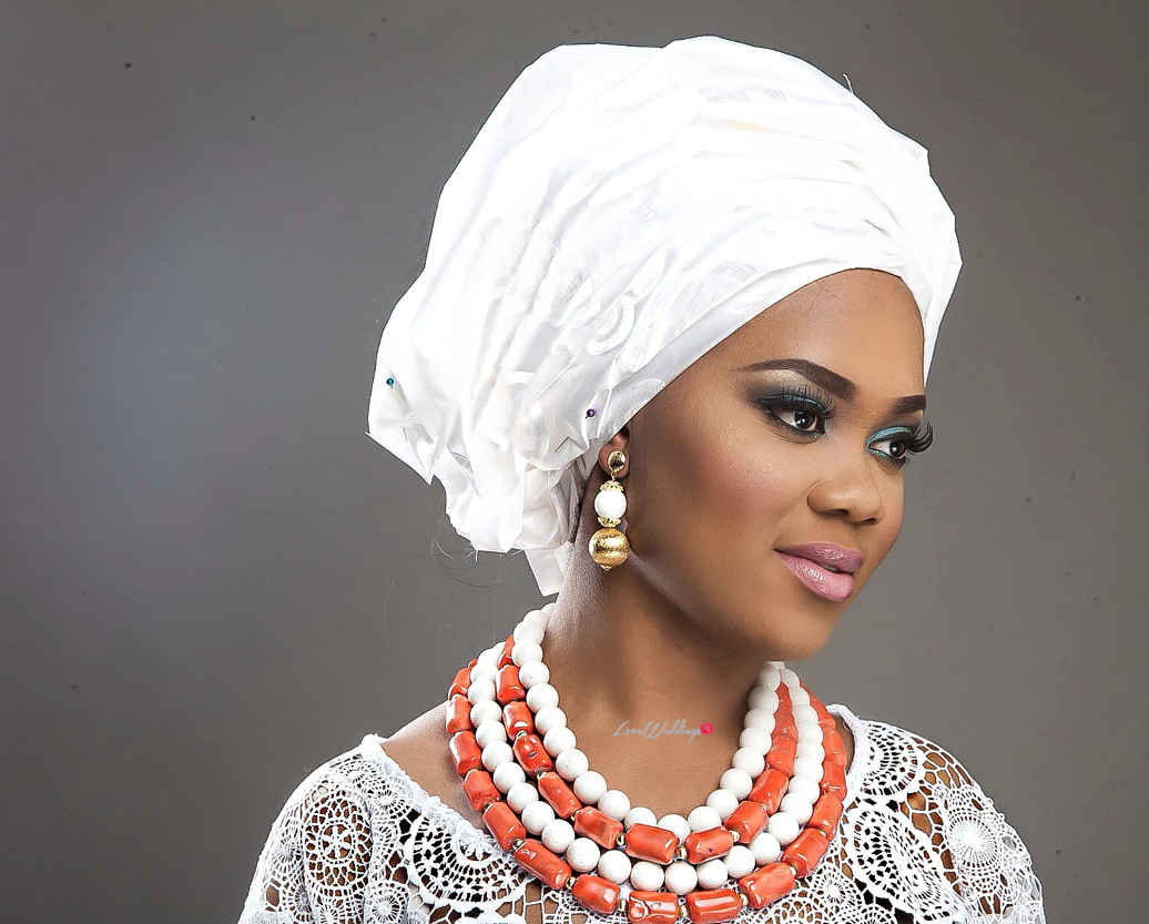 Nigerian Traditional Bride Loveweddingsng - Makeup by Labelle5