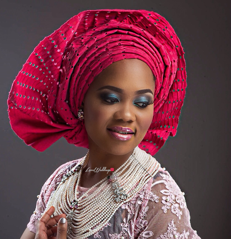 Nigerian Traditional Bride Loveweddingsng - Makeup by Labelle7