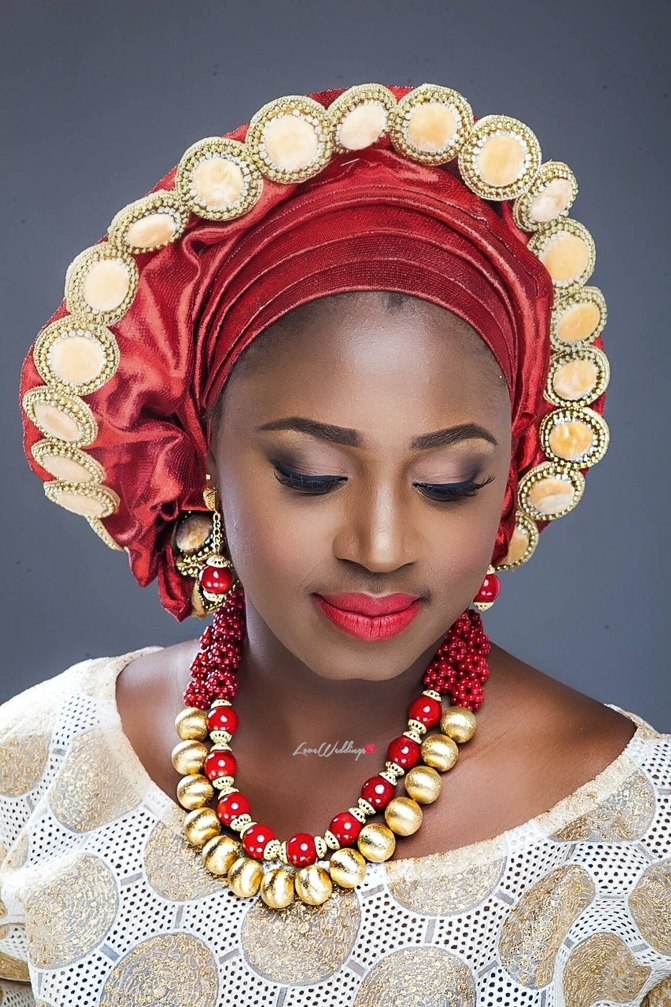 Nigerian Traditional Bride Loveweddingsng - Makeup by Labelle8