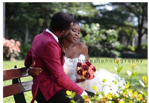 #OCandIbukunUkeje's Traditional & White Wedding : First Pictures
