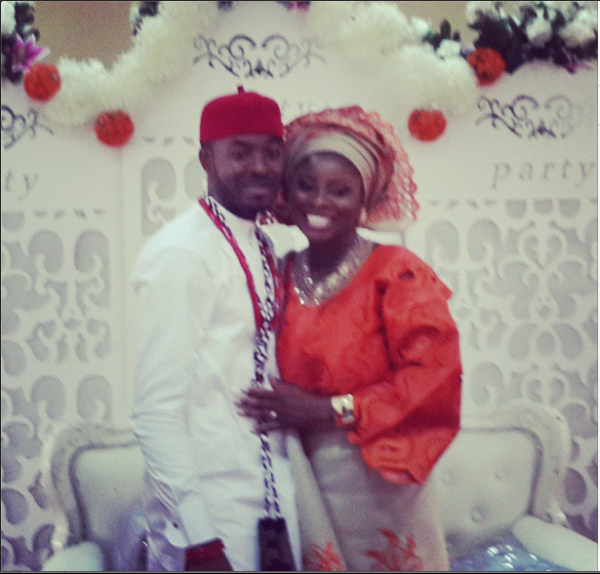 OC Ukeje Weds Ibukun Loveweddingsng8