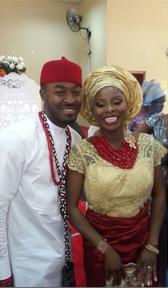 OC Ukeje Weds Ibukun Loveweddingsng9