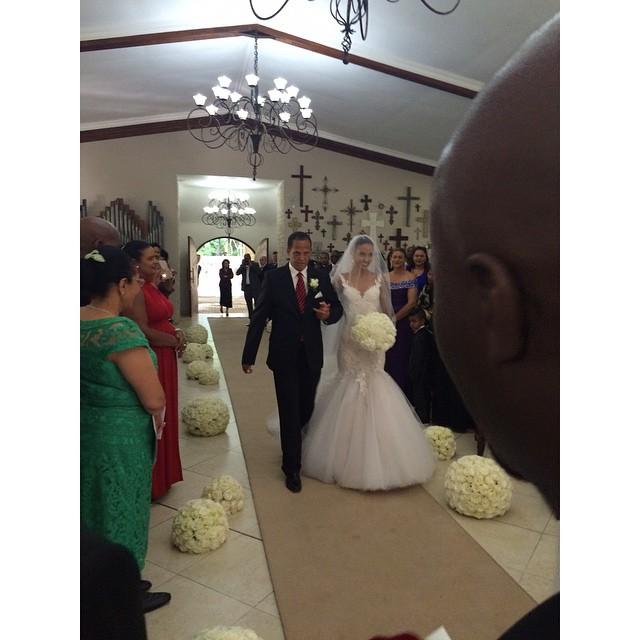 Tansey Coetzee weds Kolapo Sodeinde Loveweddingsng1