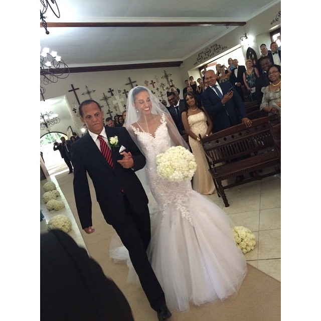 Tansey Coetzee weds Kolapo Sodeinde Loveweddingsng2