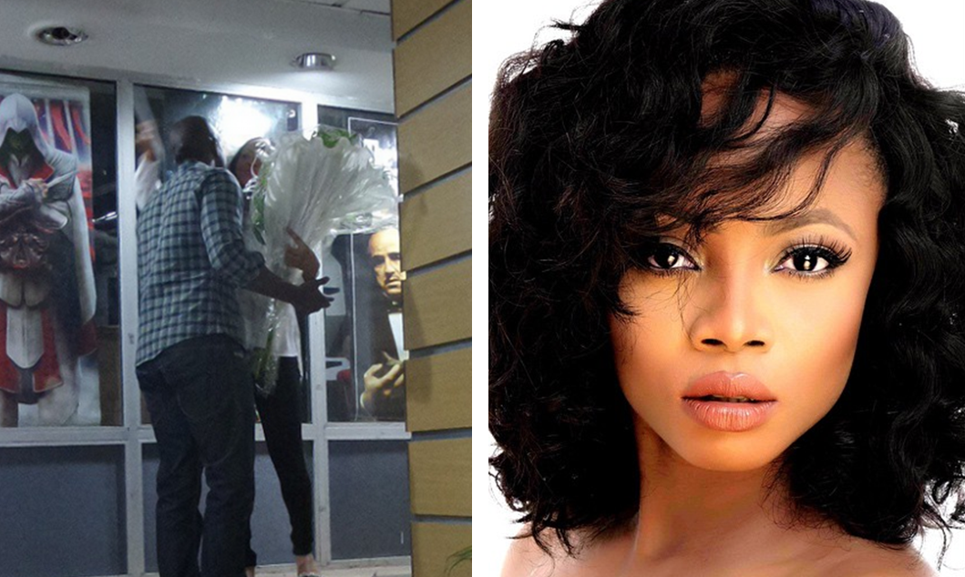 Toke Makinwa Receives Surprise Birthday Flowers & Visit from Hubby – Maje Ayida