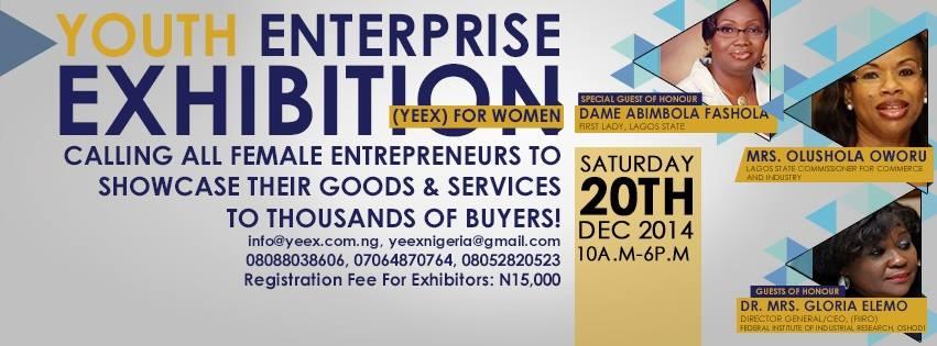 Youth Enterprise Exhibition YEEx Loveweddingsng