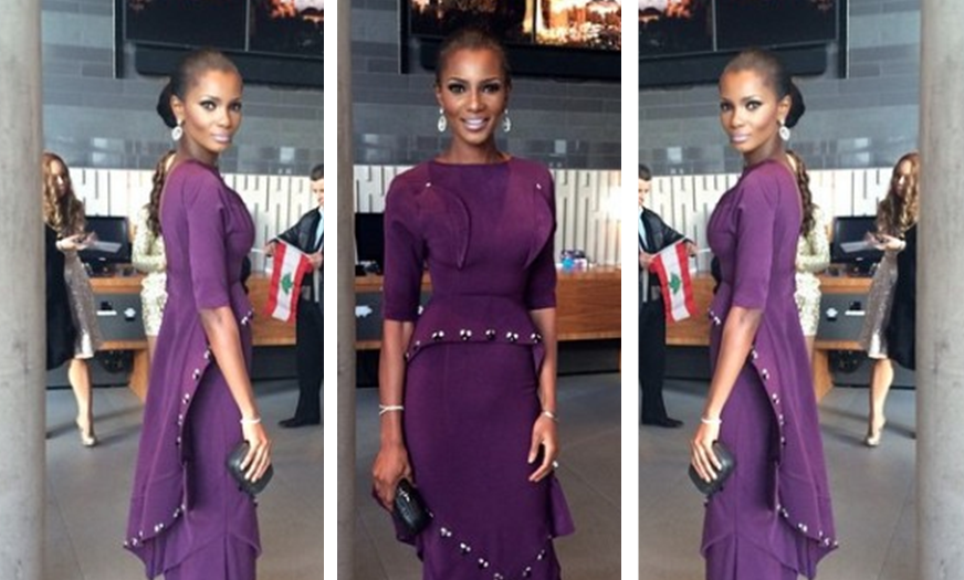 Miss World 2014 Finale: Agbani Darego's Look