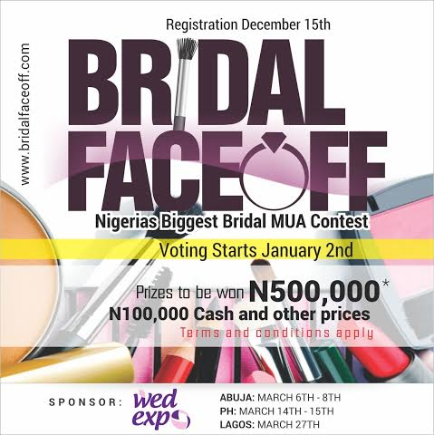 Bridal Face Off 2015 LoveweddingsNG