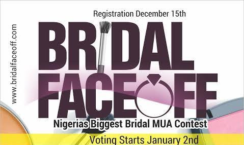 Bridal FaceOFF 2015: Introducing Nigeria's Biggest Bridal Makeup Artists Contest