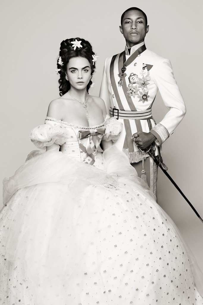 Chanel Reincarnation - Pharrell Williams and Cara Delevingne Loveweddingsng1