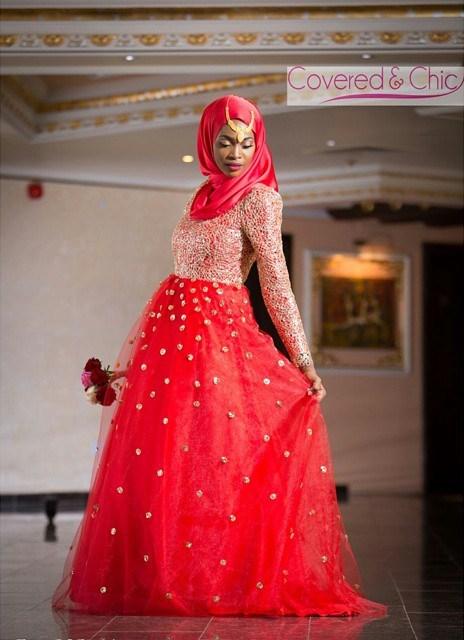 Covered and Chic Nigerian Muslim Bride Loveweddingsng3