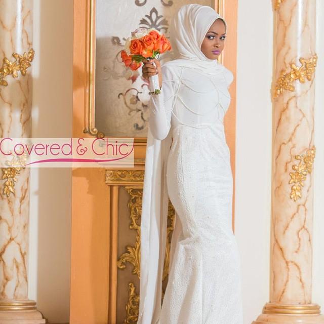 Covered and Chic Nigerian Muslim Bride Loveweddingsng4