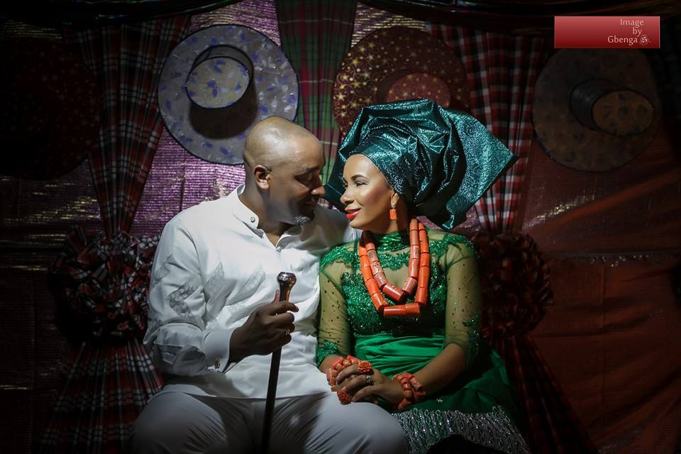 Pictures from Ibinabo Fiberesima's Traditional Wedding to Uche Egubka