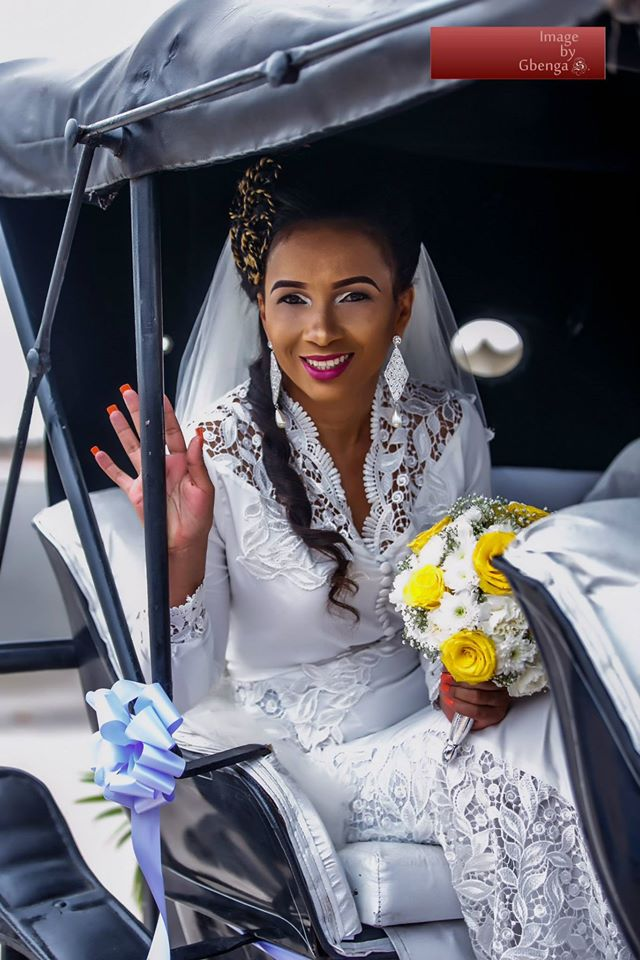 Ibinabo Fiberesimas White Wedding LoveweddingsNG2