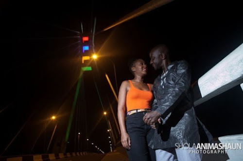 Ikoyi Lekki Bridge Prewedding Shoots We Love - Shola Animashaun