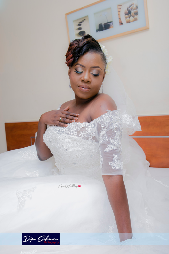 LoveweddingsNG White Wedding Lola Shola