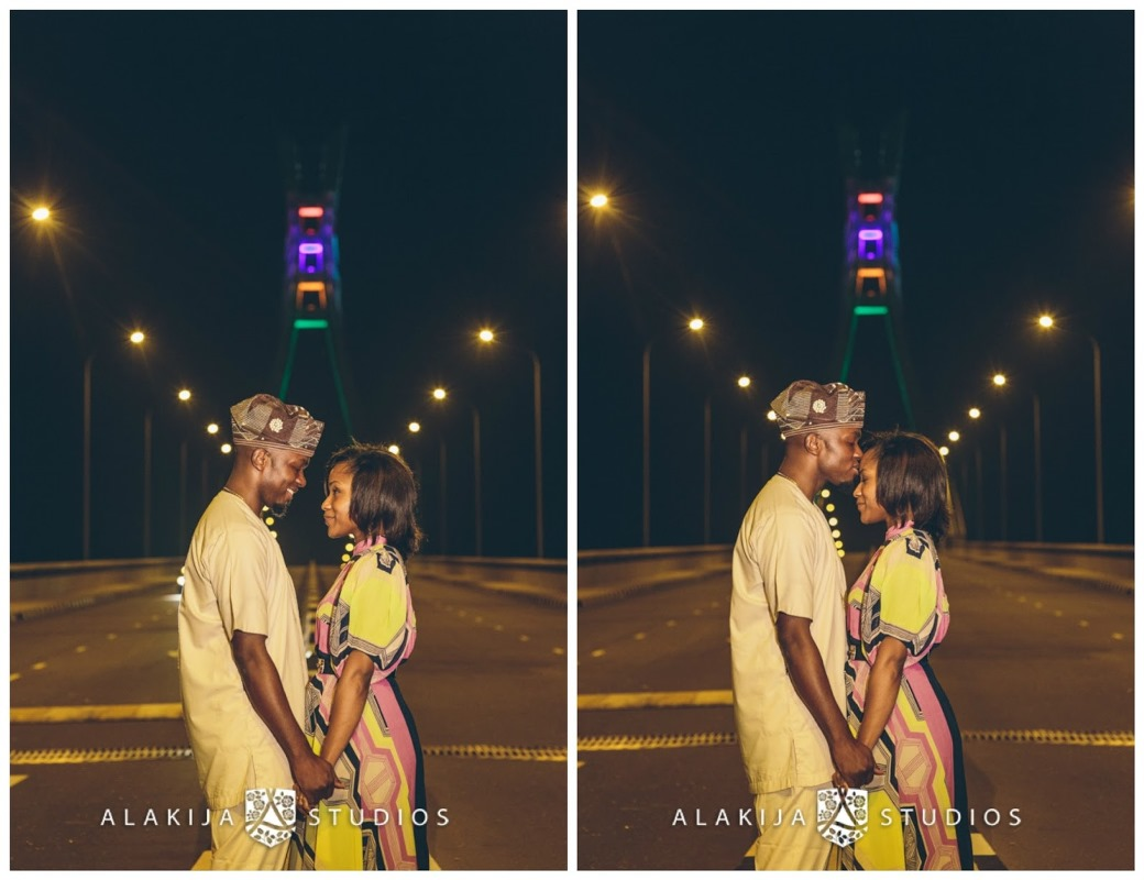 Nigerian Prewedding New Lekki Bridge - Ndali Kayode Orepitan Alakija Studios
