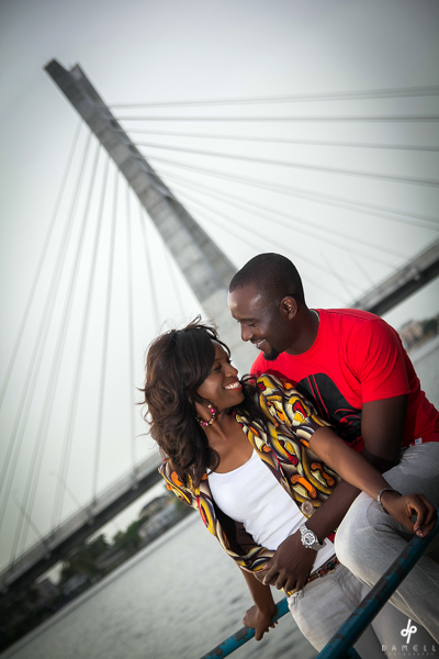 Nigerian Prewedding New Lekki Bridge Yewande Gbemi Damell Photography