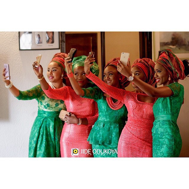 Nigerian Wedding Trend 2014 - Selfies Loveweddingsng