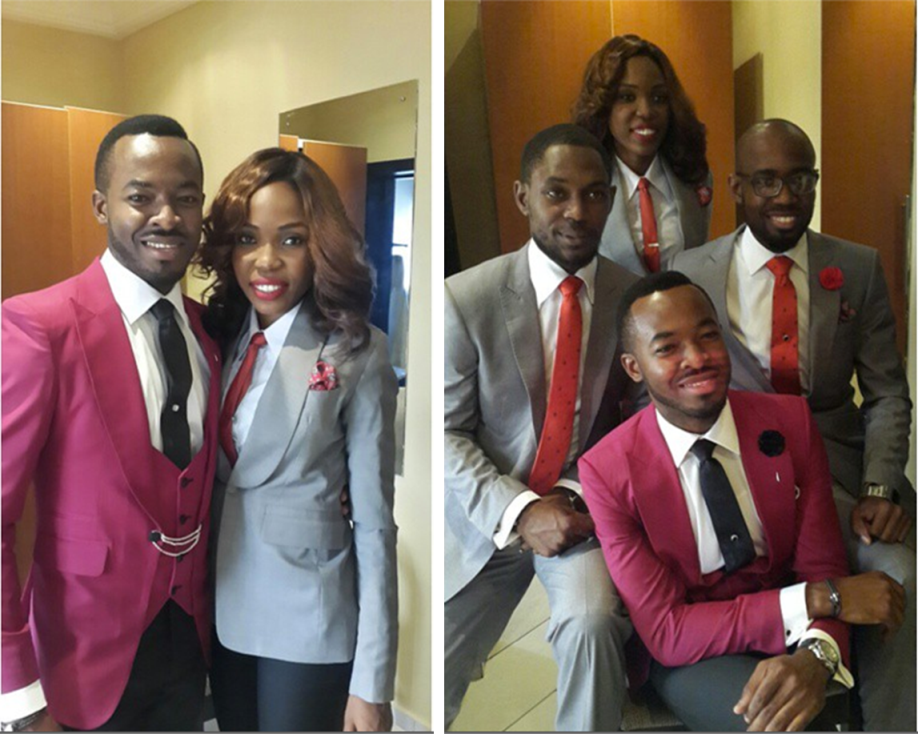OC and Ibukun Ukeje - Lala Akindoju Best Man Loveweddingsng