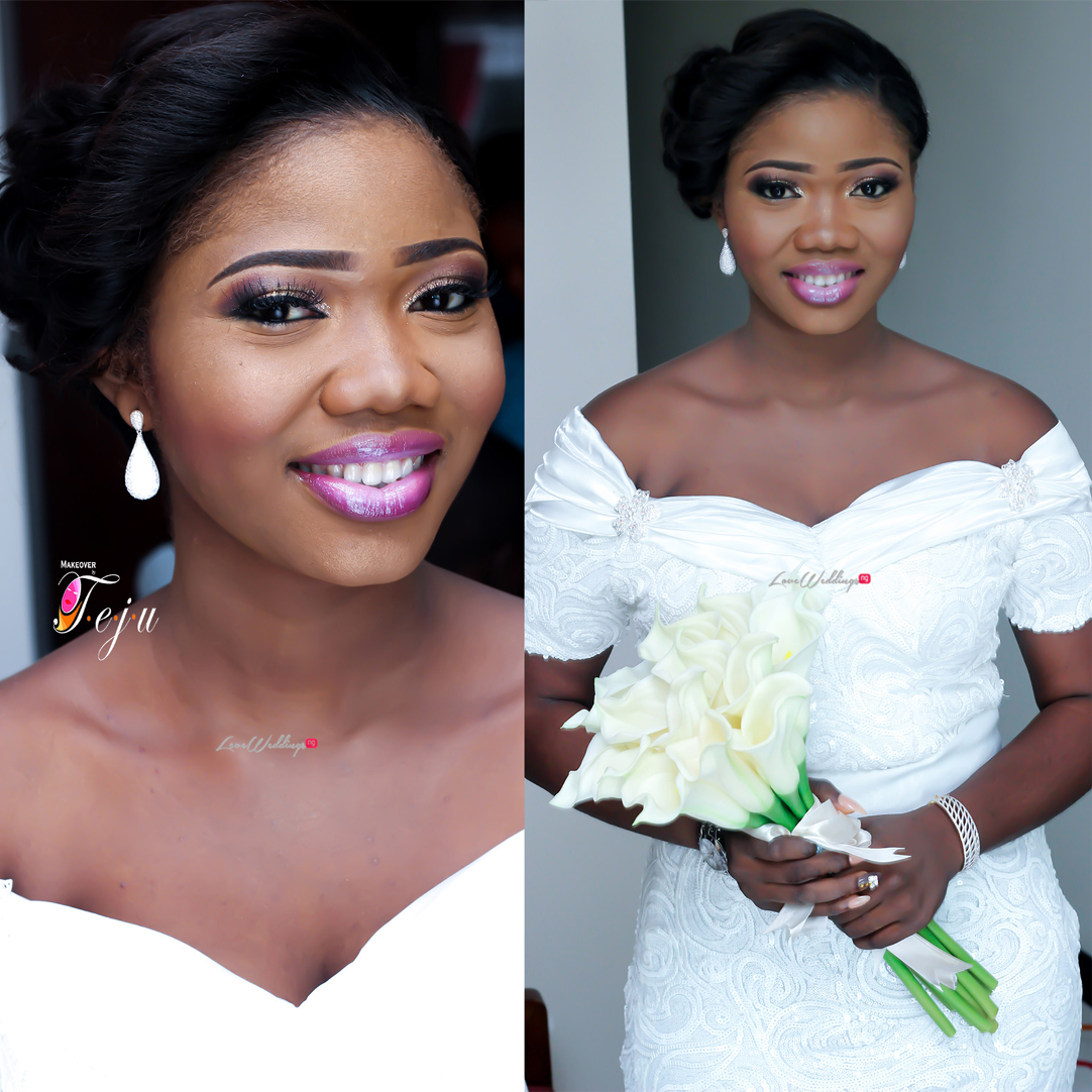 Super Eagles striker - Gbolahan Salami weds Ololade LoveweddingsNG1