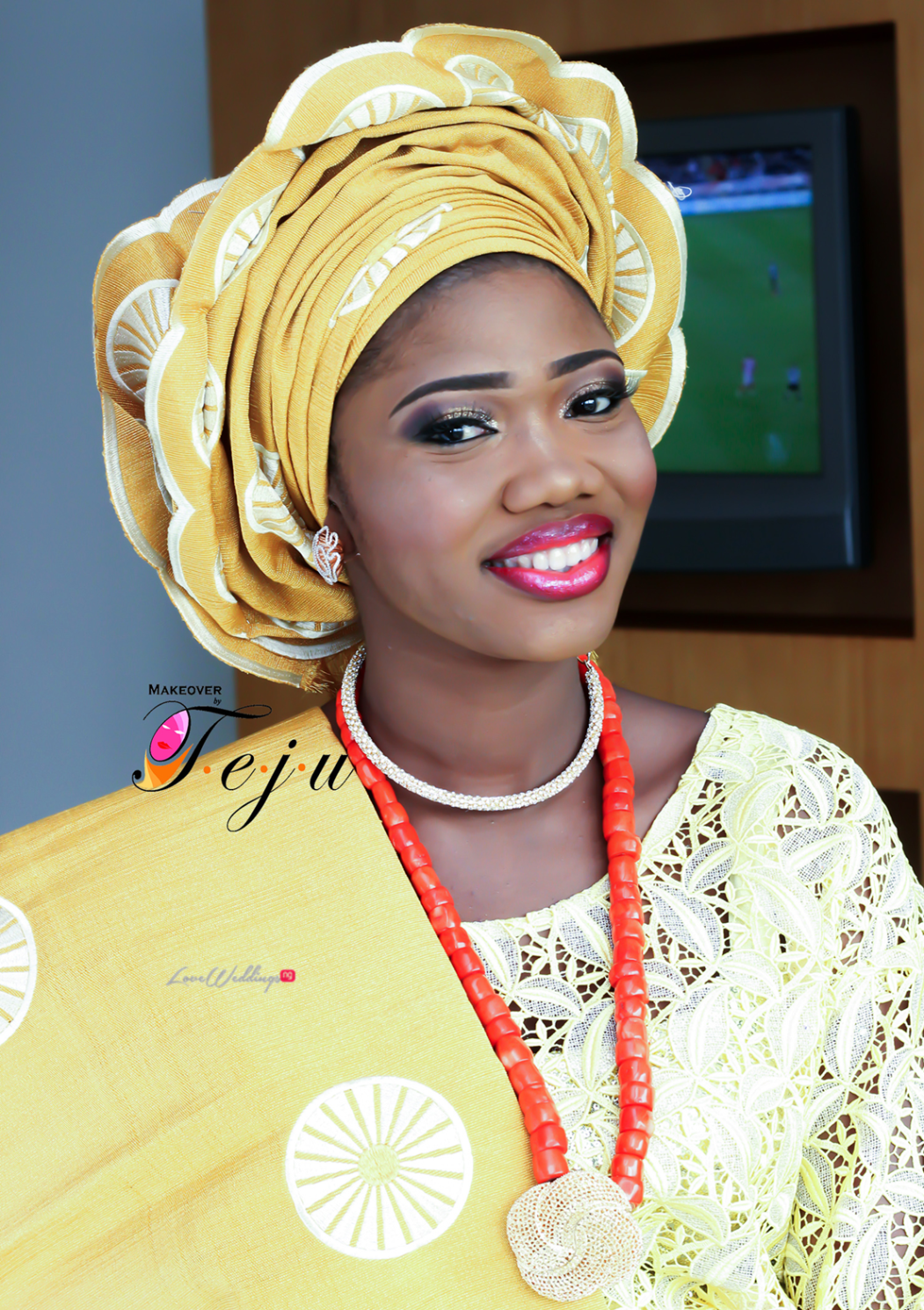 Super Eagles striker - Gbolahan Salami weds Ololade LoveweddingsNG3