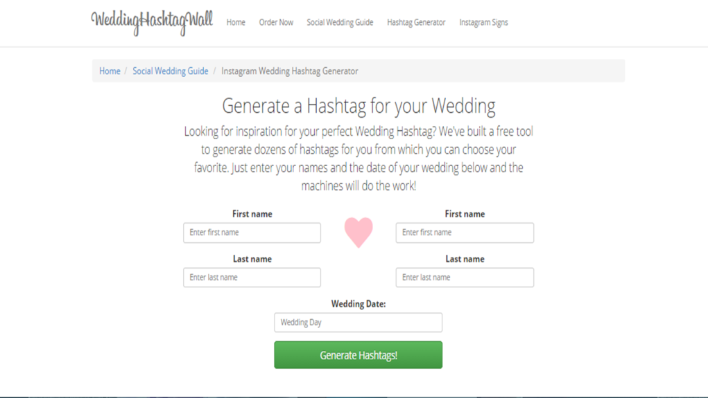 Wedding Hashtag Wall Loveweddingsng1