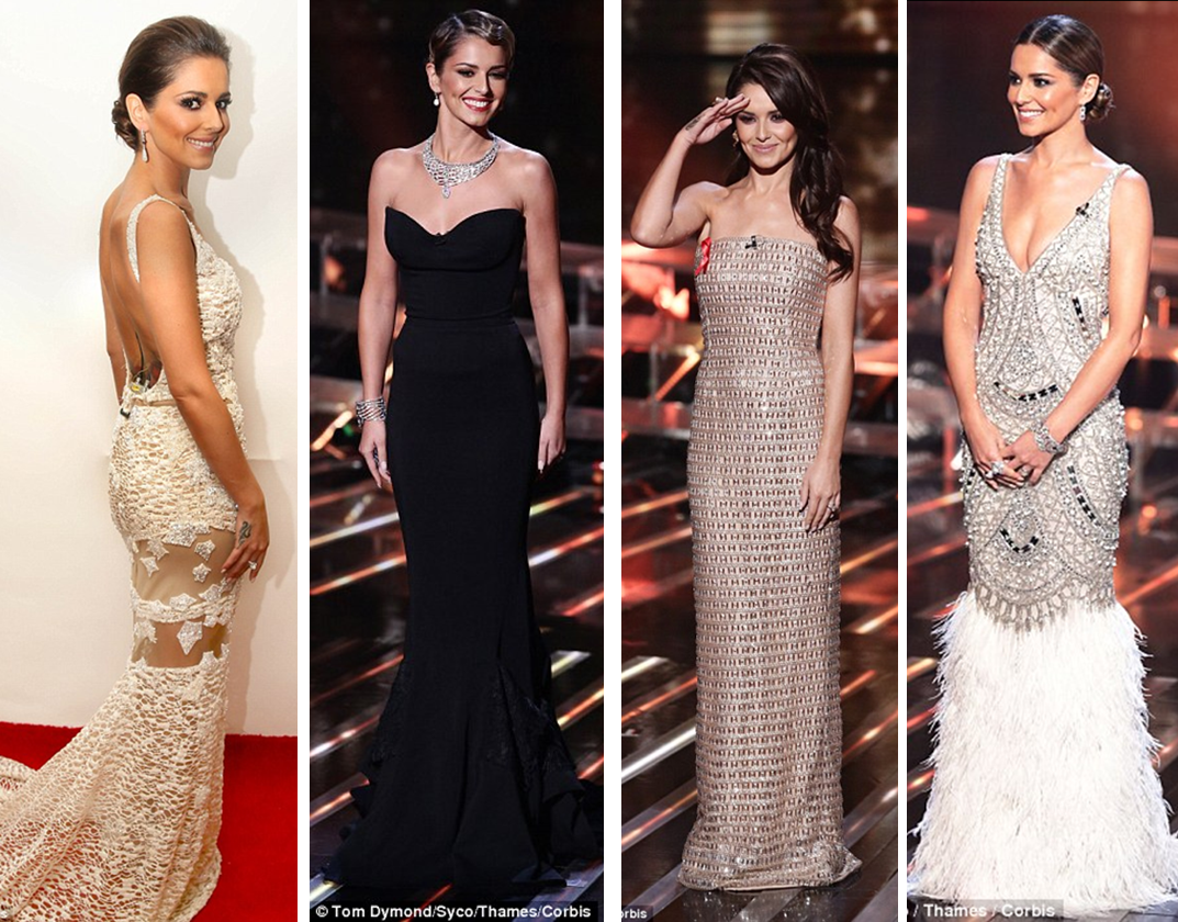 X Factor 2014 - Cheryl Fernandes Versini Bridal Inspiration Loveweddingsng feat