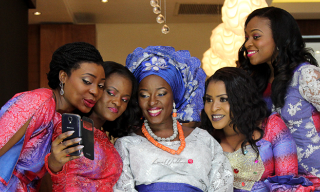Pictures from Dimeji Bankole's sister – Mope's wedding