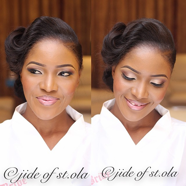 Bride: Ine. Makeup: Jide of St. Ola