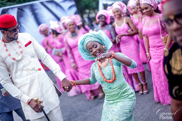 Official Pictures: Adanma Ohakim and Amaha's Traditional Wedding | Caramel Photos