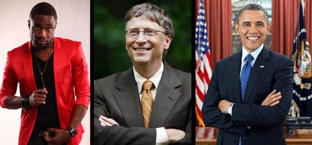 LoveweddingsNG Praiz Bill Gates Barrack Obama