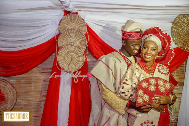 LoveweddingsNG presents Yetunde & Rotimi | Thesaurus Studios