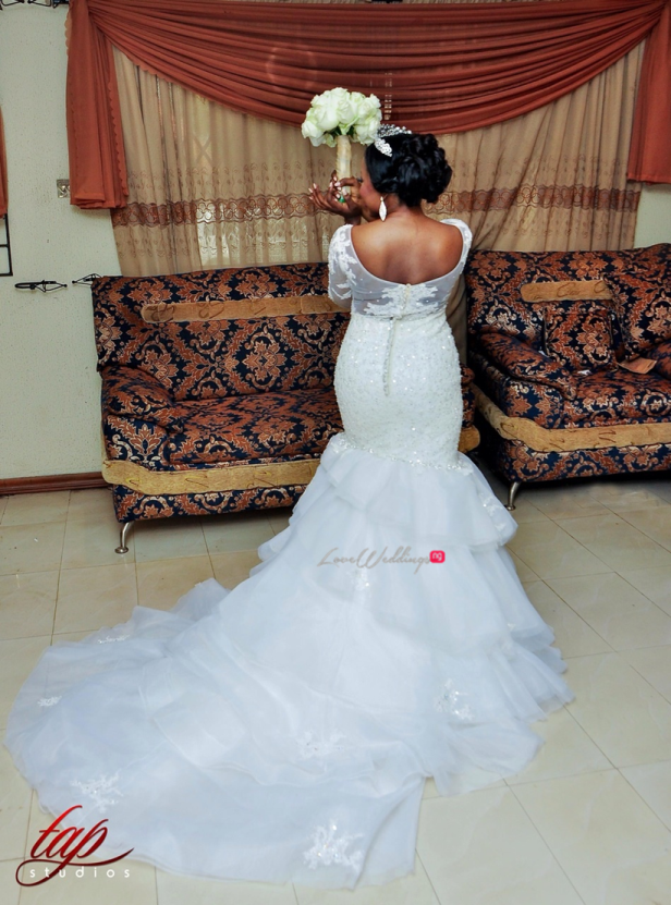 LoveweddingsNG White Wedding Ife and Tobi