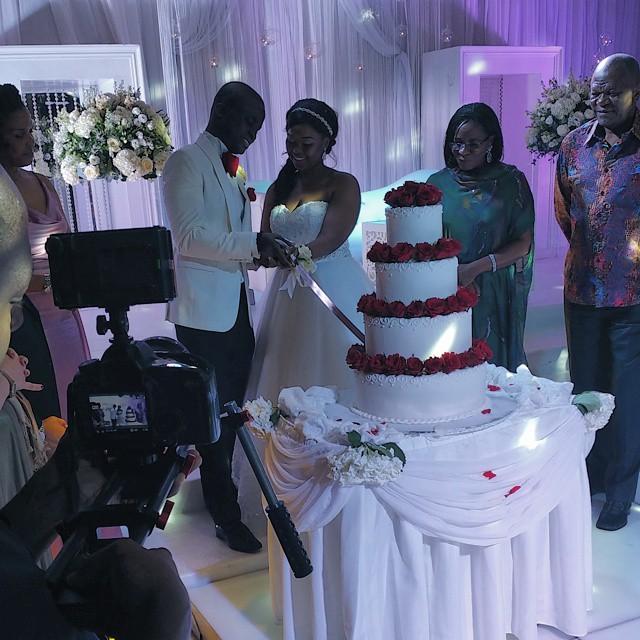 Michael Demuren White Wedding LoveweddingsNG